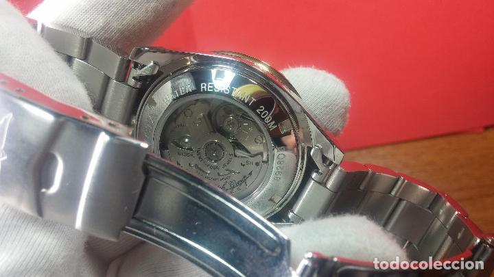 Relojes automáticos: Reloj automático de caballero Submarine INVICTA, esfera azul, como nuevo, muy bonito - Foto 102 - 111530419
