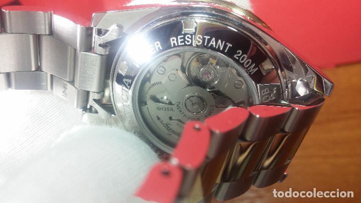 Relojes automáticos: Reloj automático de caballero Submarine INVICTA, esfera azul, como nuevo, muy bonito - Foto 104 - 111530419