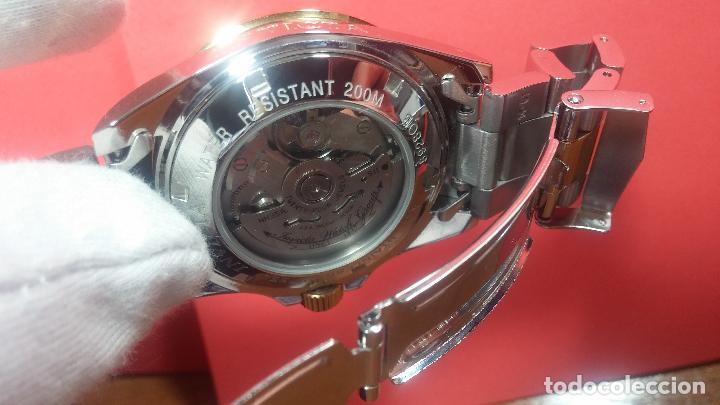 Relojes automáticos: Reloj automático de caballero Submarine INVICTA, esfera azul, como nuevo, muy bonito - Foto 105 - 111530419