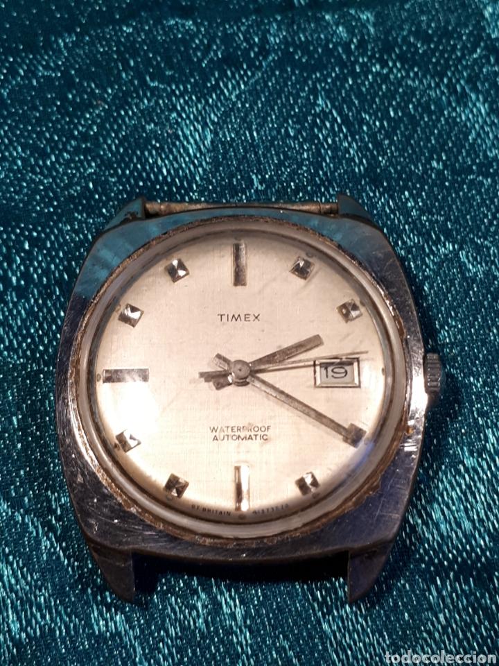 RELOJ AUTOMATICO TIMEX. FUNCIONANDO. (Relojes - Relojes Automáticos)