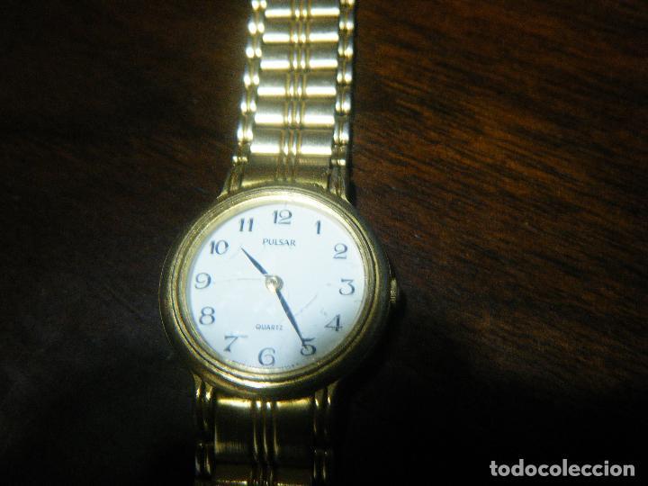 Relojes automáticos: Reloj mujer PULSAR, chapado en oro - Foto 3 - 111639147