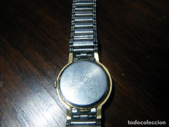 Relojes automáticos: Reloj mujer PULSAR, chapado en oro - Foto 4 - 111639147