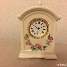 Relojes automáticos: RELOJ DE PORCELANA . Lote 111916699