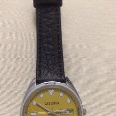 Relojes automáticos: RELOJ CITICEN CALENDARIO EN ARABE Y INGLES , RARÍSIMO. Lote 112086700