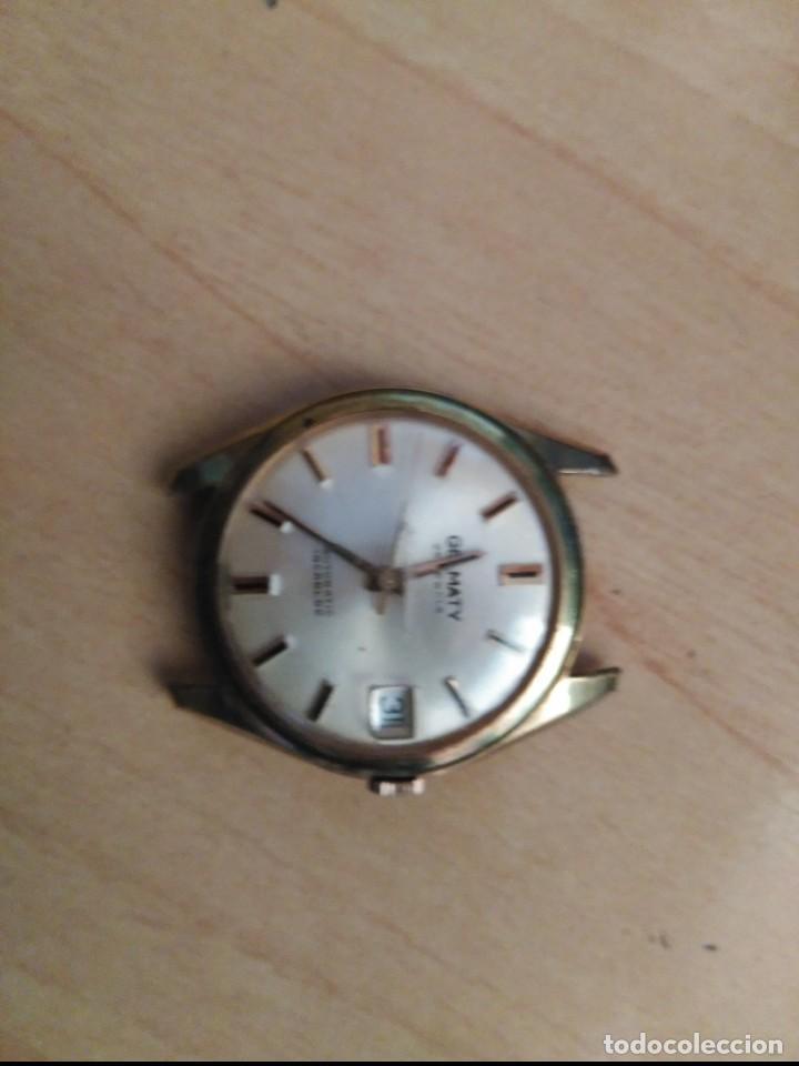 Relojes automáticos: antiguo reloj germaty automatico funciona suizo - Foto 2 - 112449135