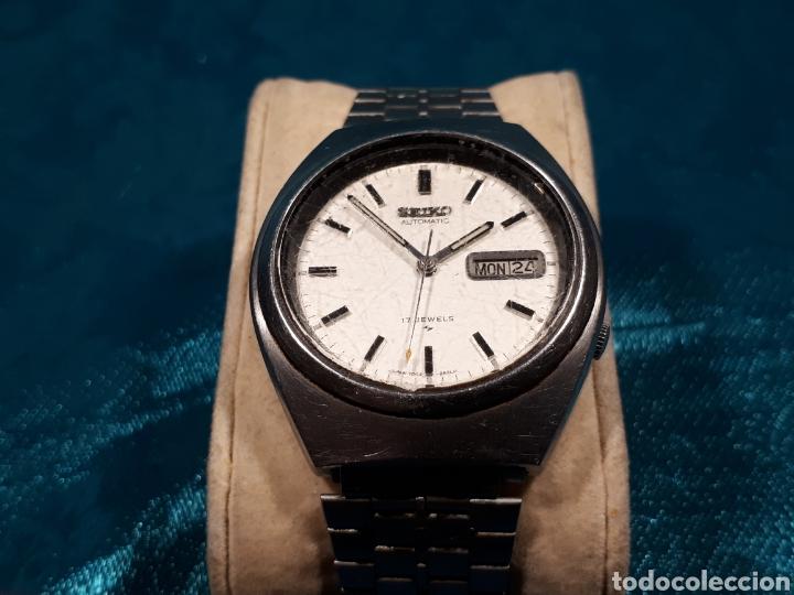 Relojes automáticos: Reloj automatico seiko de 17 rubis. - Foto 4 - 112463991