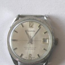 Relojes automáticos: RELOJ PULSERA CABALLERO LUCERNE AUTOMÁTICO, CON CALENDARIO. MED. 3,6 CM. Lote 112763359