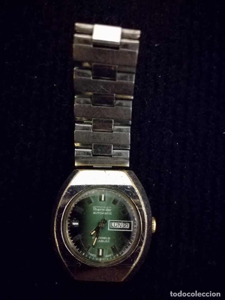 Relojes automáticos: Reloj de pulsera mujer señora thermidor automático 21 jewels. Funcionado - Foto 2 - 112828115