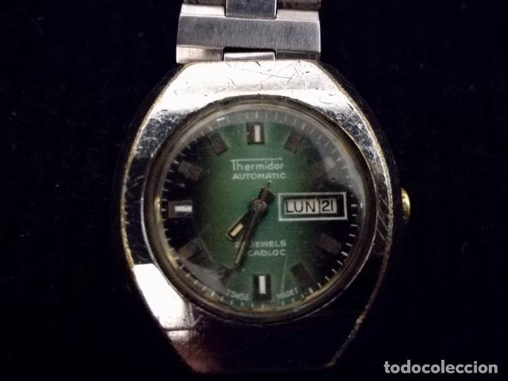 Relojes automáticos: Reloj de pulsera mujer señora thermidor automático 21 jewels. Funcionado - Foto 3 - 112828115