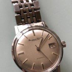 Relojes automáticos: RELOJ Y BRAZALETE INTERNATIONAL WATCH & COMPANY IWC 1966-67 CAJA Y ARMIS ACERO. Lote 112899531
