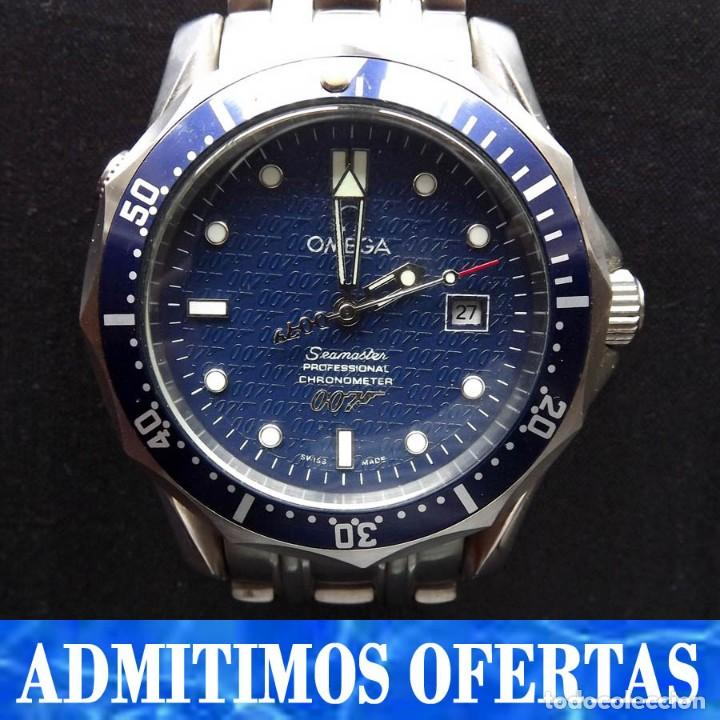 18937c71261 Reloj automático omega seamaster 40 aniversario - Sold through ...