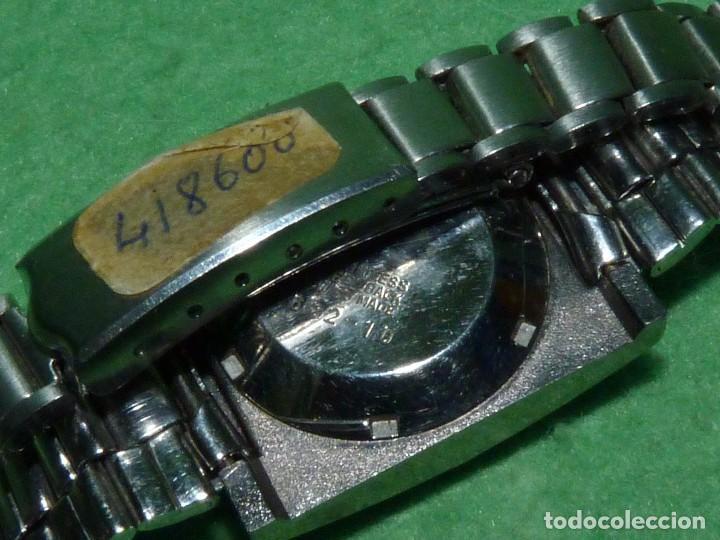 Relojes automáticos: CURIOSO LOTE RELOJ THERMIDOR AUTOMATICO Y CARGA MANUAL ANTIGUO 17 RUBIS FUNCIONANDO ORIGINAL AÑOS 70 - Foto 6 - 113428583