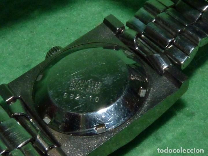Relojes automáticos: CURIOSO LOTE RELOJ THERMIDOR AUTOMATICO Y CARGA MANUAL ANTIGUO 17 RUBIS FUNCIONANDO ORIGINAL AÑOS 70 - Foto 7 - 113428583
