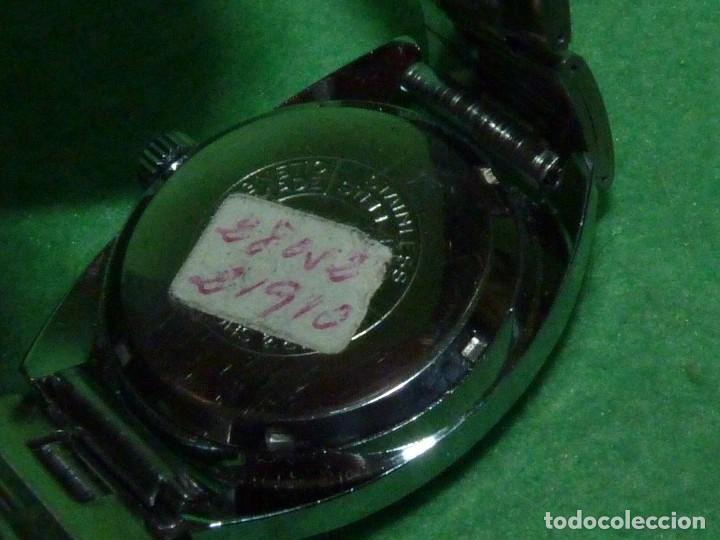 Relojes automáticos: CURIOSO LOTE RELOJ THERMIDOR AUTOMATICO Y CARGA MANUAL ANTIGUO 17 RUBIS FUNCIONANDO ORIGINAL AÑOS 70 - Foto 8 - 113428583