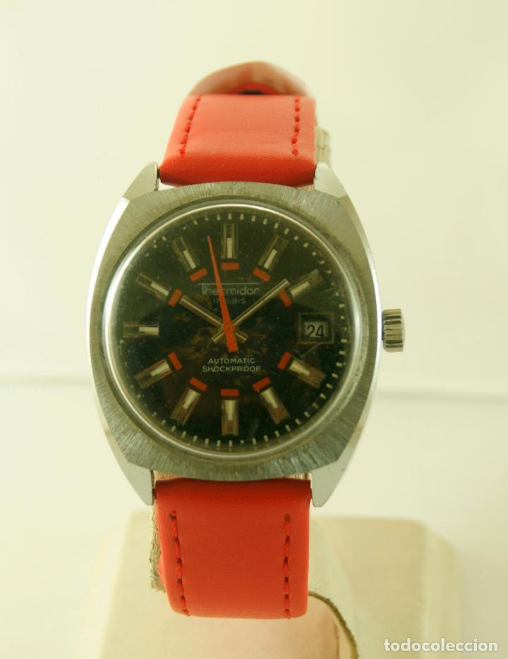 Relojes automáticos: THERMIDOR AUTOMATIC FUNCIONANDO 34.5MM - Foto 2 - 113460055