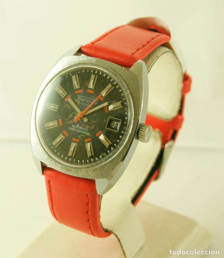 Relojes automáticos: THERMIDOR AUTOMATIC FUNCIONANDO 34.5MM - Foto 3 - 113460055