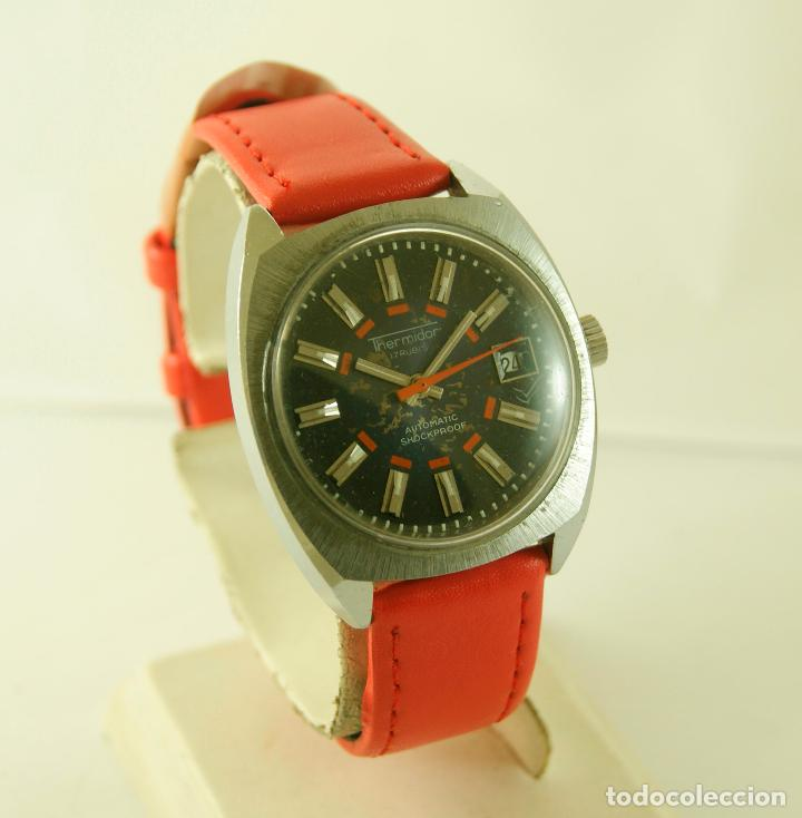 Relojes automáticos: THERMIDOR AUTOMATIC FUNCIONANDO 34.5MM - Foto 4 - 113460055