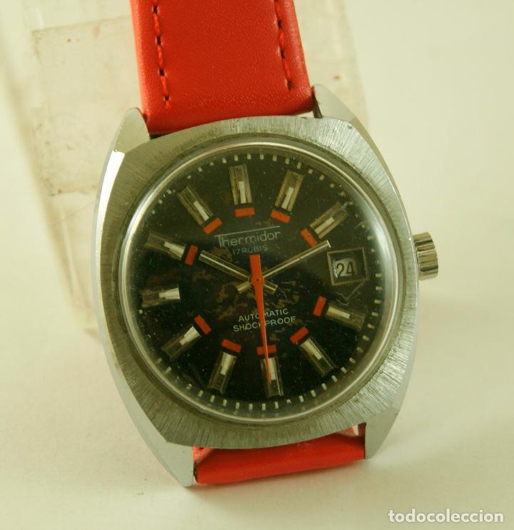 Relojes automáticos: THERMIDOR AUTOMATIC FUNCIONANDO 34.5MM - Foto 5 - 113460055