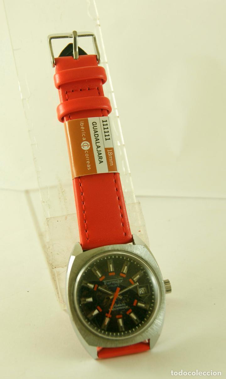 Relojes automáticos: THERMIDOR AUTOMATIC FUNCIONANDO 34.5MM - Foto 6 - 113460055
