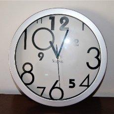 Relojes automáticos: BONITO RELOJ DE DISEÑO DE PARED. Lote 99949327
