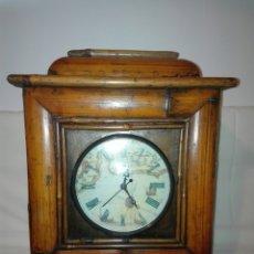 Relojes automáticos: RELOJ. CAJA EXTERNA DE BAMBÚ.. Lote 113731935