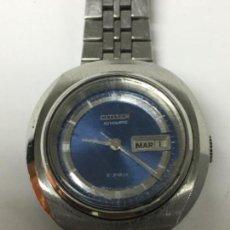Relojes automáticos: RELOJ AUTOMATICO CITIZEN CON DIA Y MES A LAS 3. Lote 121035744