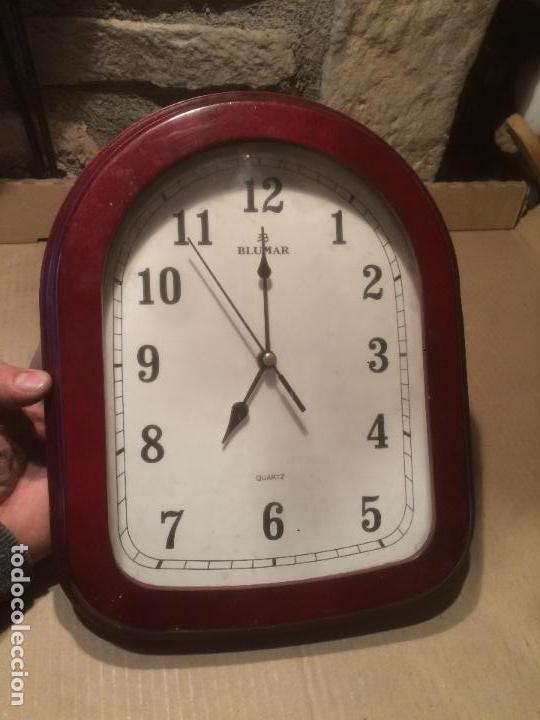 antiguo reloj de pared marca blumar con marco d - Comprar Relojes ...