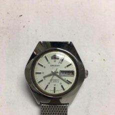 Relojes automáticos: RELOJ ORIENT AUTOMÁTICO DOBLE DIAL EN ACERO COMPLETO MUJER EN FUNCIONAMIENTO. Lote 114252495