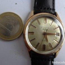 Relojes automáticos: ANTIGUO (AÑOS 60) Y BONITO RELOJ AUTOMATICO --SAWAR--GRUESO CHAPADO ORO, FUNCIONANDO PERFECTO BUEN E. Lote 114325455