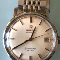 Relojes automáticos: RELOJ OMEGA SEAMASTER DE VILLE AUTOMATICO CAJA Y ARMIS DE ACERO AÑOS 60 PERFECTO ESTADO. Lote 114635015