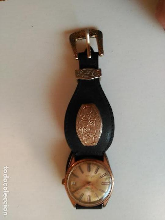 RELOJ THERMIDOR DE LUXE, INCABLOC, AUTOMATIC 21 RUBIES - FUNCIONANDO (Relojes - Relojes Automáticos)
