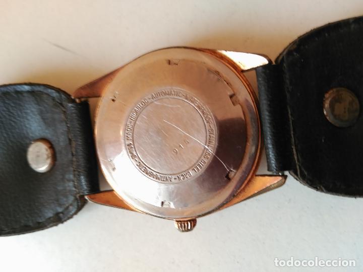 Relojes automáticos: RELOJ THERMIDOR DE LUXE, INCABLOC, AUTOMATIC 21 RUBIES - FUNCIONANDO - Foto 5 - 114701223