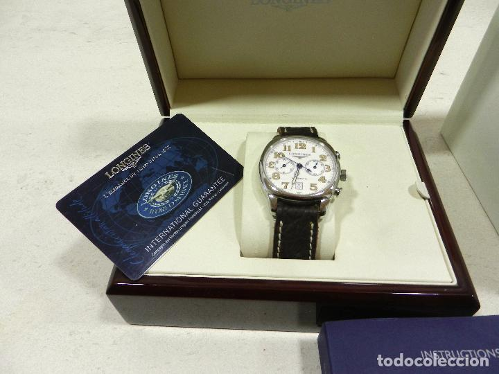 Relojes automáticos: Longines spirit cronografo - Foto 7 - 116226523