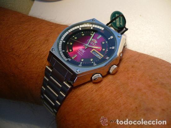 Relojes automáticos: ORIENT XXL AUTOMATICO IMPRESIONANTE ORIGINAL OLD STOCK -MINT, CAJA, SIN USAR - Foto 2 - 116418123