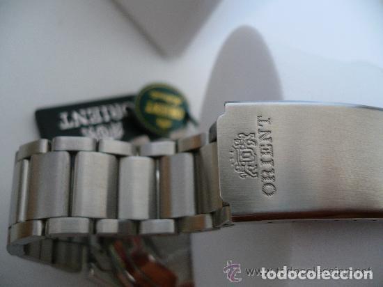 Relojes automáticos: ORIENT XXL AUTOMATICO IMPRESIONANTE ORIGINAL OLD STOCK -MINT, CAJA, SIN USAR - Foto 4 - 116418123