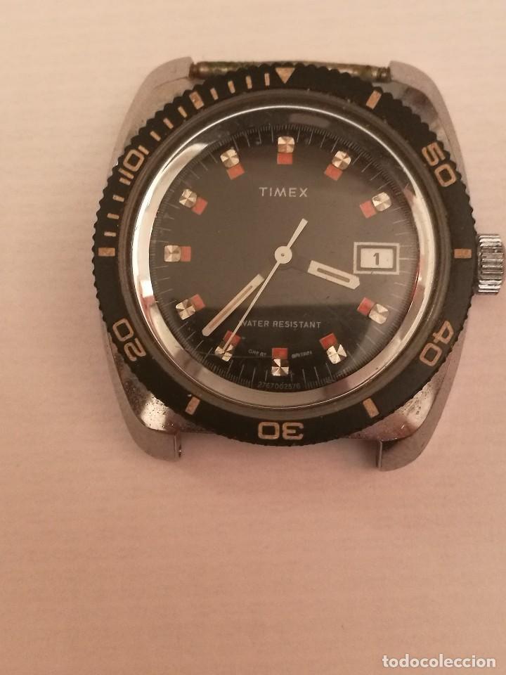 7a5957587e2e Reloj timex automatico funcionando correctamente algun ralloncito en el  cristal sin importancia