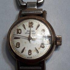 Relojes automáticos: RELOJ ANTIGUO DUWARD CONTINUAL SEÑORA. Lote 116644224