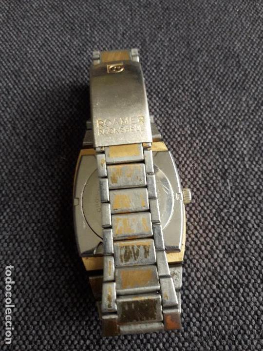 Relojes automáticos: Reloj automático Roamer Rockshell Mark V para Caballero. Funcionando. - Foto 3 - 116905251