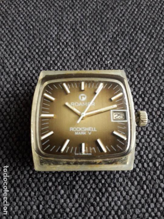 Relojes automáticos: Reloj automático Roamer Rockshell Mark V para Caballero. Funcionando. - Foto 5 - 116905251