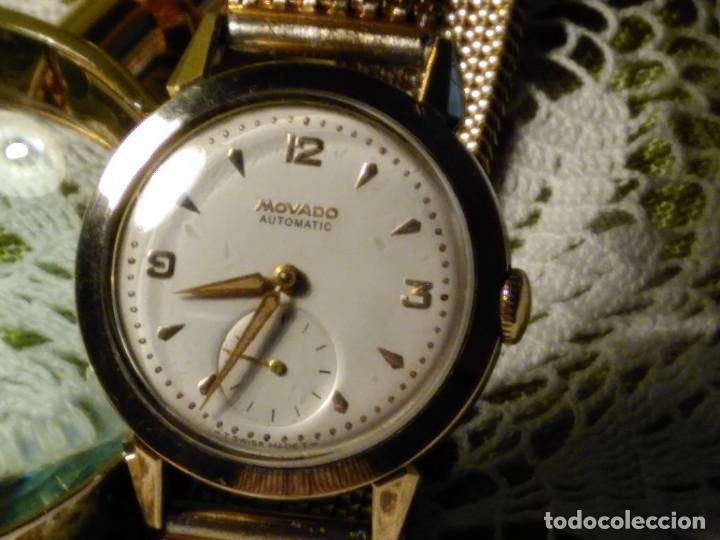 MOVADO AUTOMATICO. AÑO 1.959 FUNCIONANDO - IMPECABLE. ACERO Y ORO. BUMPER/MARTILLO. DESCRIP. Y FOTOS (Relojes - Relojes Automáticos)