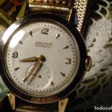 Relojes automáticos: MOVADO AUTOMATICO. AÑO 1.959 FUNCIONANDO - IMPECABLE. ACERO Y ORO. BUMPER/MARTILLO. DESCRIP. Y FOTOS. Lote 117184515