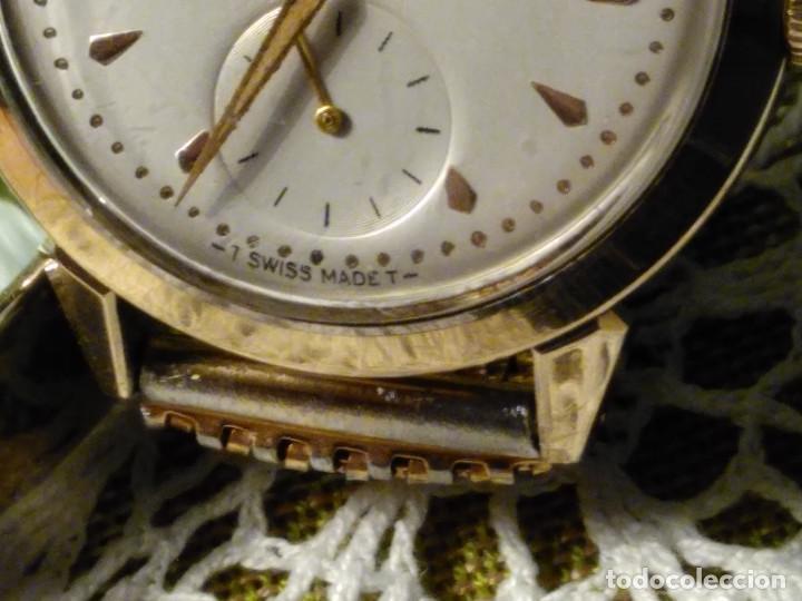 Relojes automáticos: MOVADO AUTOMATICO. AÑO 1.959 FUNCIONANDO - IMPECABLE. ACERO Y ORO. BUMPER/MARTILLO. DESCRIP. Y FOTOS - Foto 11 - 117184515