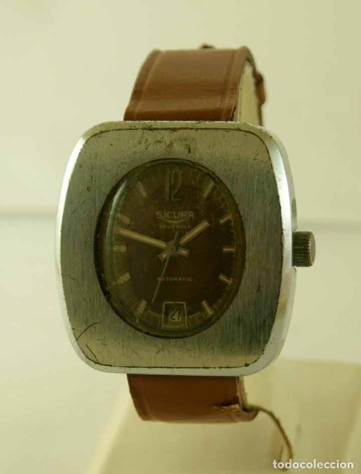 Relojes automáticos: SICURA AUTOMATIC CASA BREITLING 38 X 40 MM - Foto 2 - 117542215