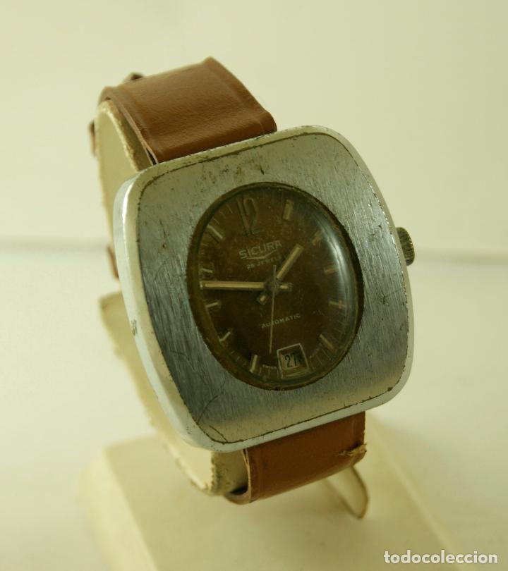 Relojes automáticos: SICURA AUTOMATIC CASA BREITLING 38 X 40 MM - Foto 3 - 117542215
