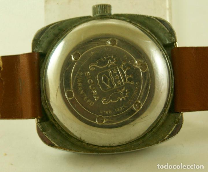 Relojes automáticos: SICURA AUTOMATIC CASA BREITLING 38 X 40 MM - Foto 6 - 117542215