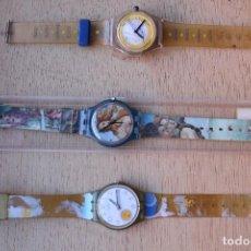 Relojes automáticos: 3 RELOJES PULSERA. Lote 117563819