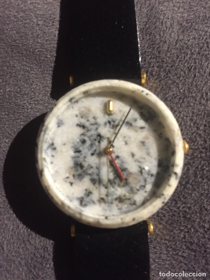 RELOJ DE PULSERA ORIGINAL CAJA IMITANDO GRANITO. NUEVO TUSCANY (Relojes - Relojes Automáticos)
