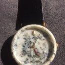 Relojes automáticos: RELOJ DE PULSERA ORIGINAL CAJA IMITANDO GRANITO. NUEVO TUSCANY. Lote 117673960