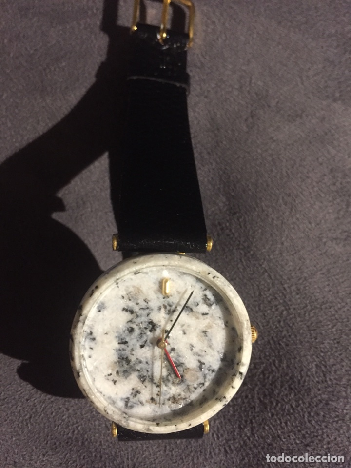 Relojes automáticos: Reloj de pulsera original caja imitando granito. Nuevo Tuscany - Foto 3 - 117673960