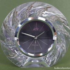 Relojes automáticos: RELOJ DE CUARZO DE SOBREMESA. HOYA. SOFTY CRYSTAL. MADE IN JAPAN. SIGLO XX. . Lote 118127499